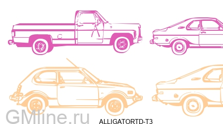 Chevrolet (Шевроле) ALLIGATORTD-T3 Брелок